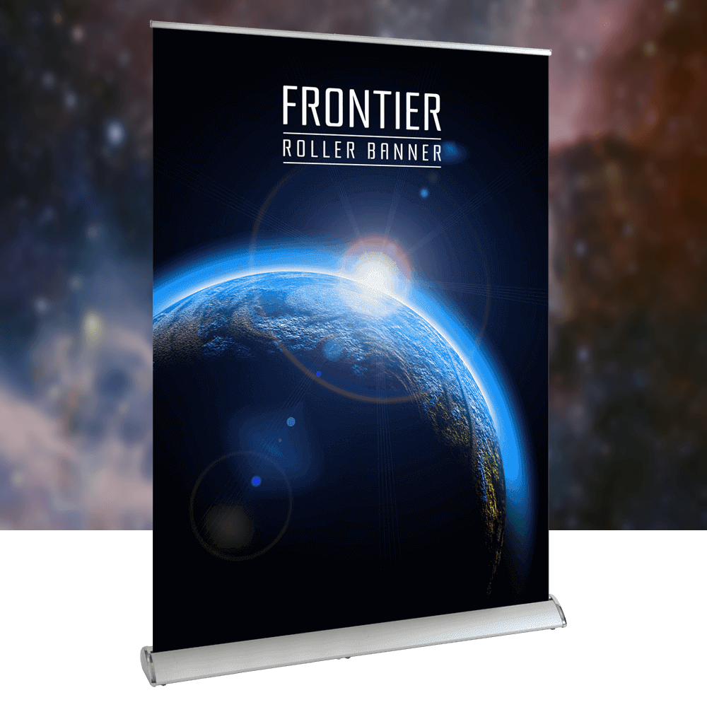 Frontier product image with background