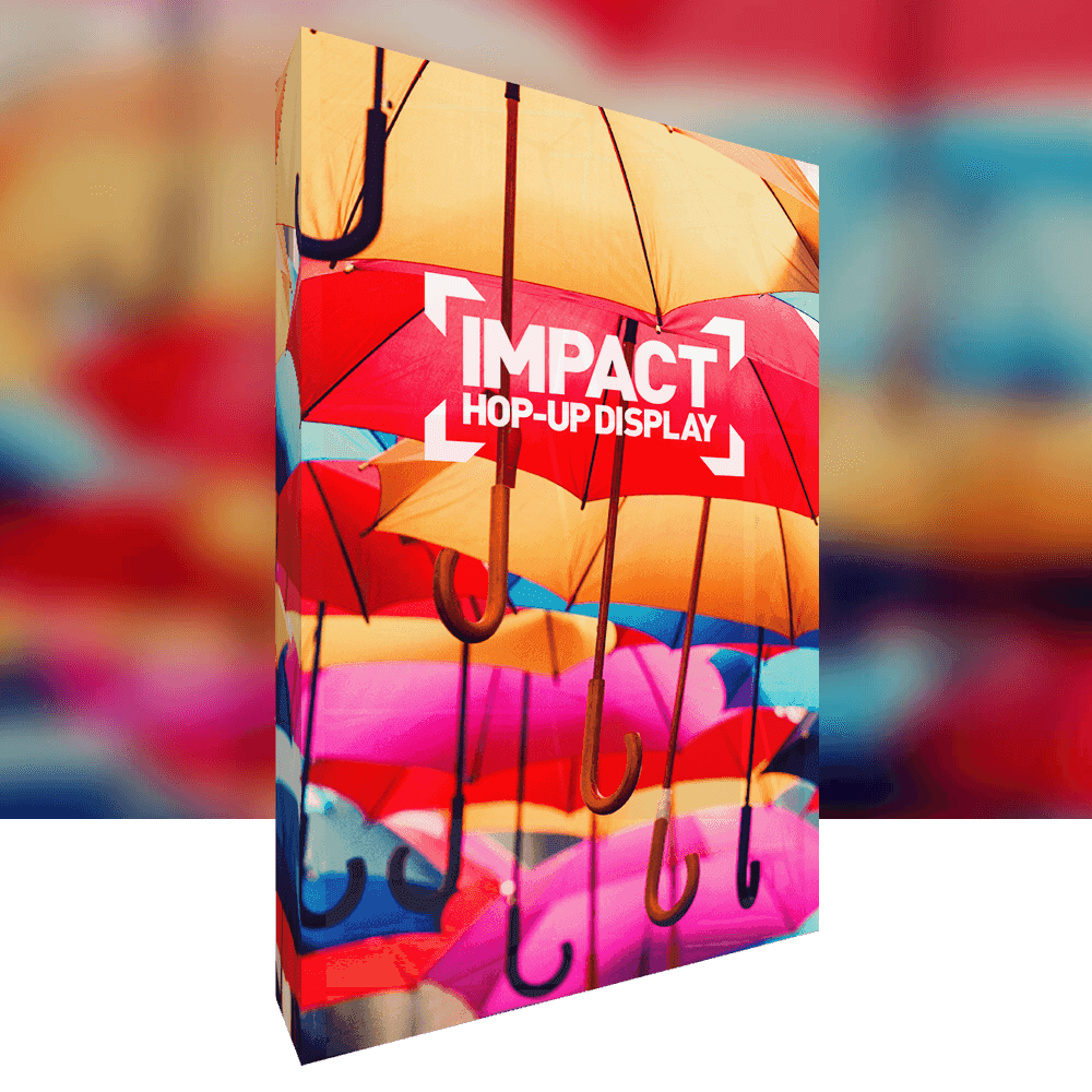 Impact product image with background