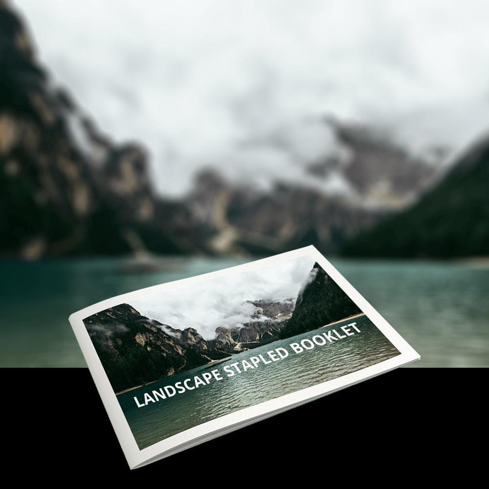 Lansscape Stapled Booklets