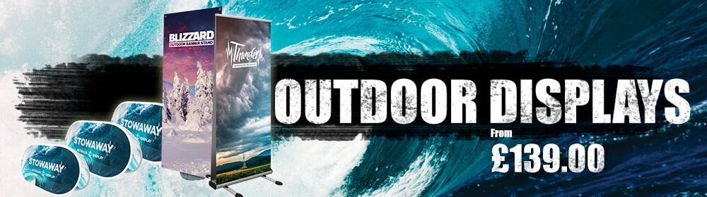 Outdoor Displays Slider