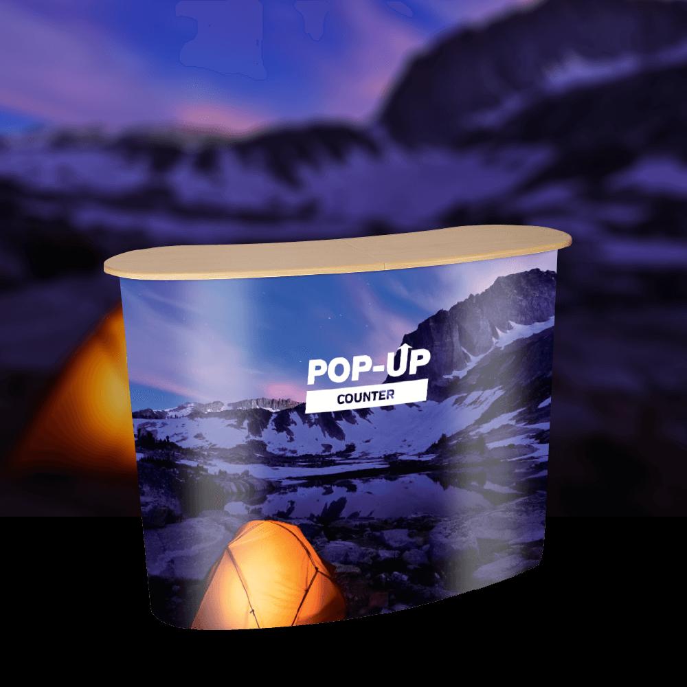 Pop-Up Counter