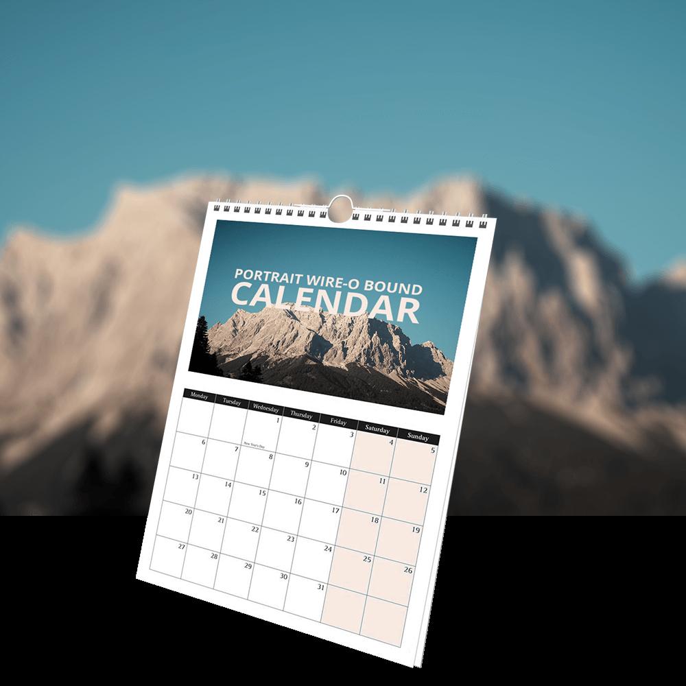 Wire Bound Calendar