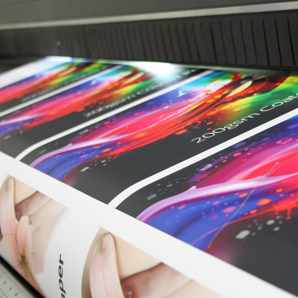 200gsm Poster Paper : Fluid Signs Ltd