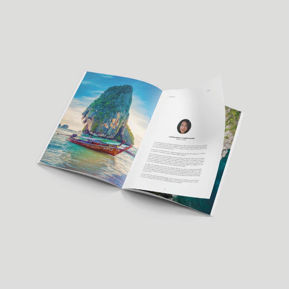Royal Stapled Booklet - Long Edge