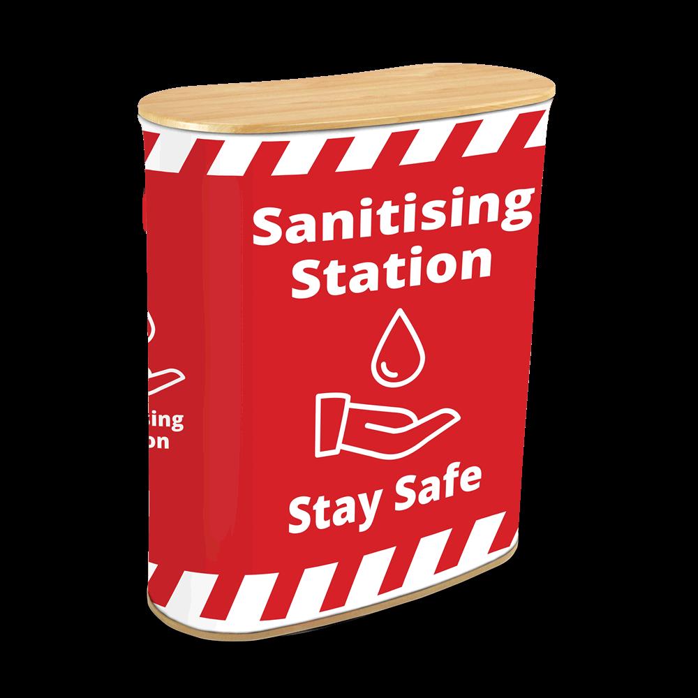 Sanitising Station - Seg