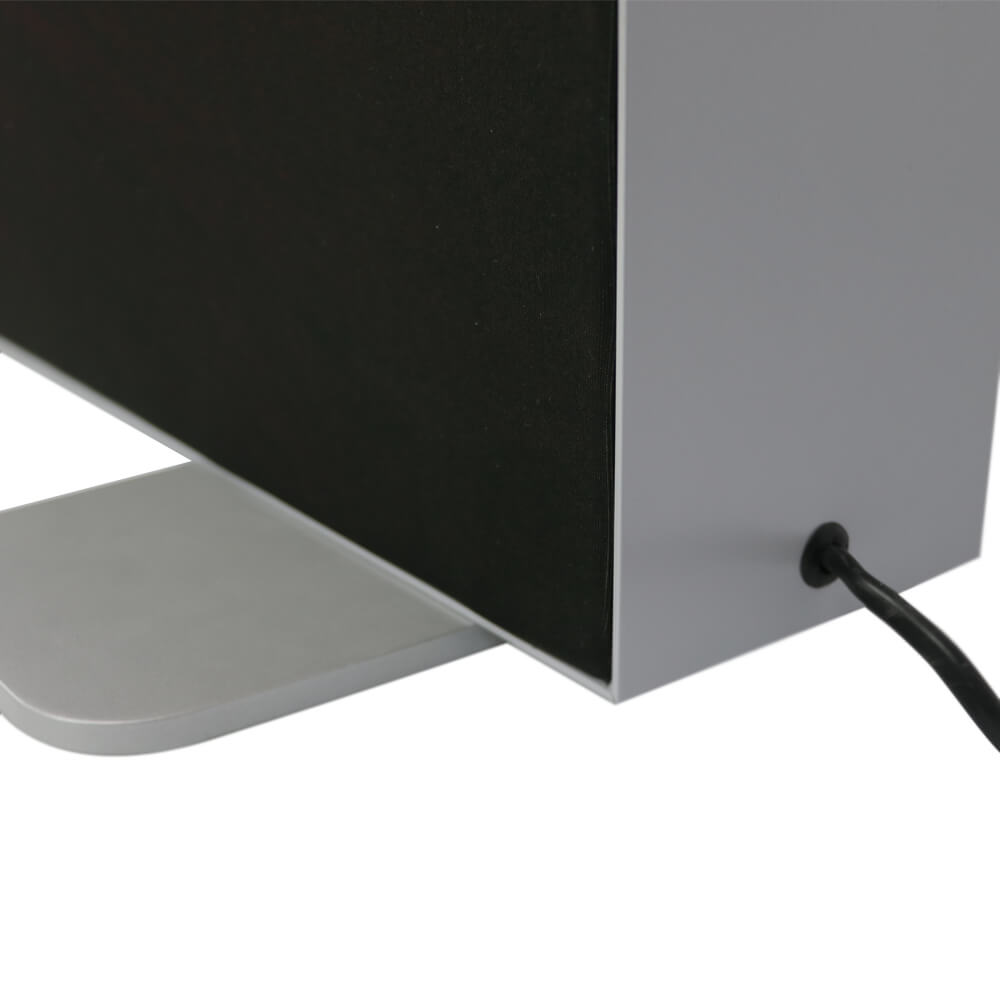Premium SEG Free Standing Lightbox - Foot And Cable