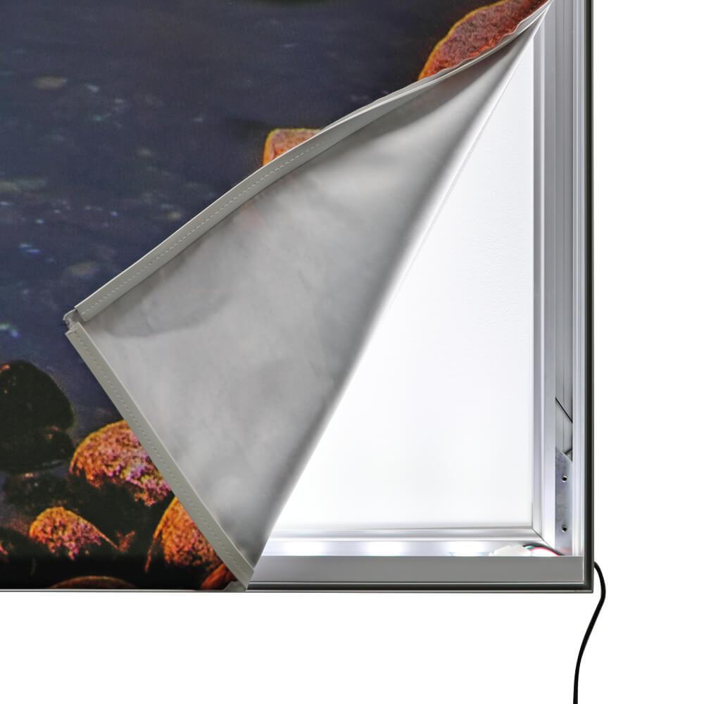 Premium SEG Wall Mounted Lightbox - Graphic Peeled