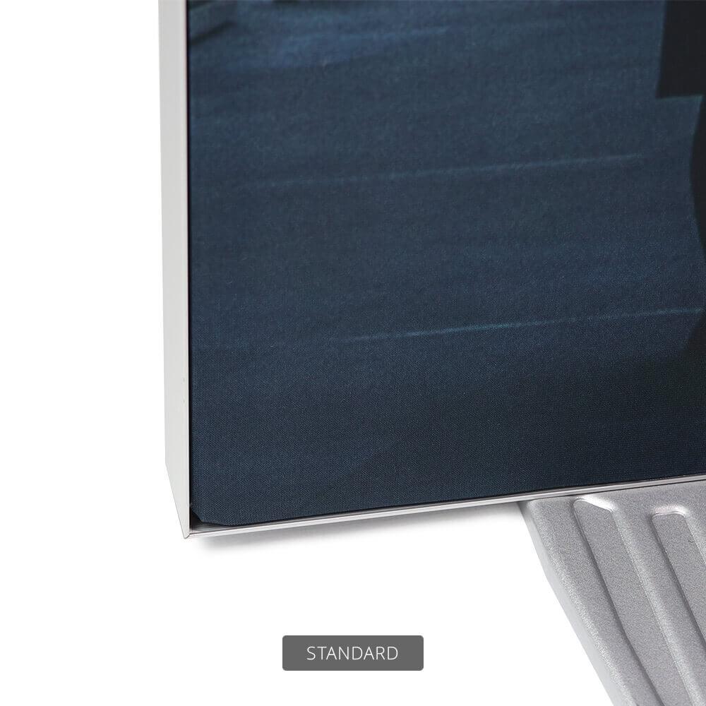 SEG Free-Standing Display - Standard - Detail Bottom Left Corner