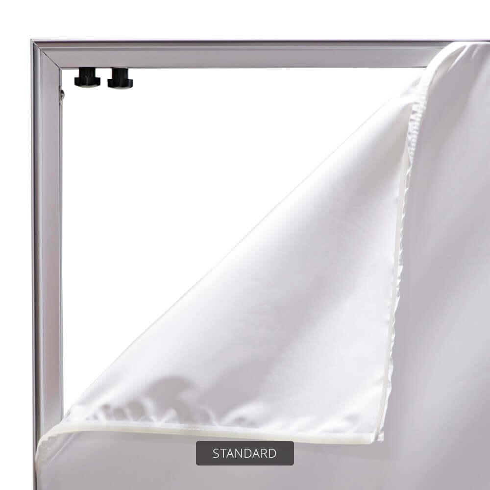 SEG Free-Standing Display - Standard - Detail Graphic Corner Peeled