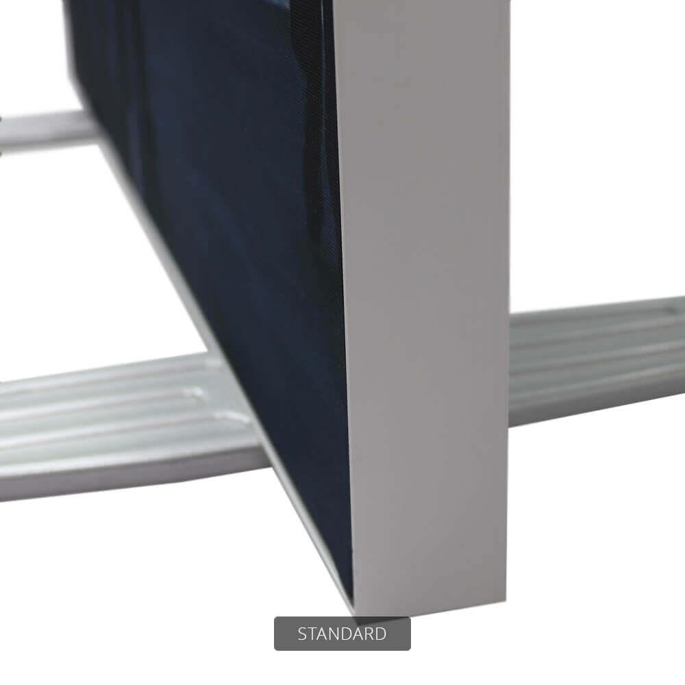 SEG Free-Standing Display - Standard - Detail Side And Feet