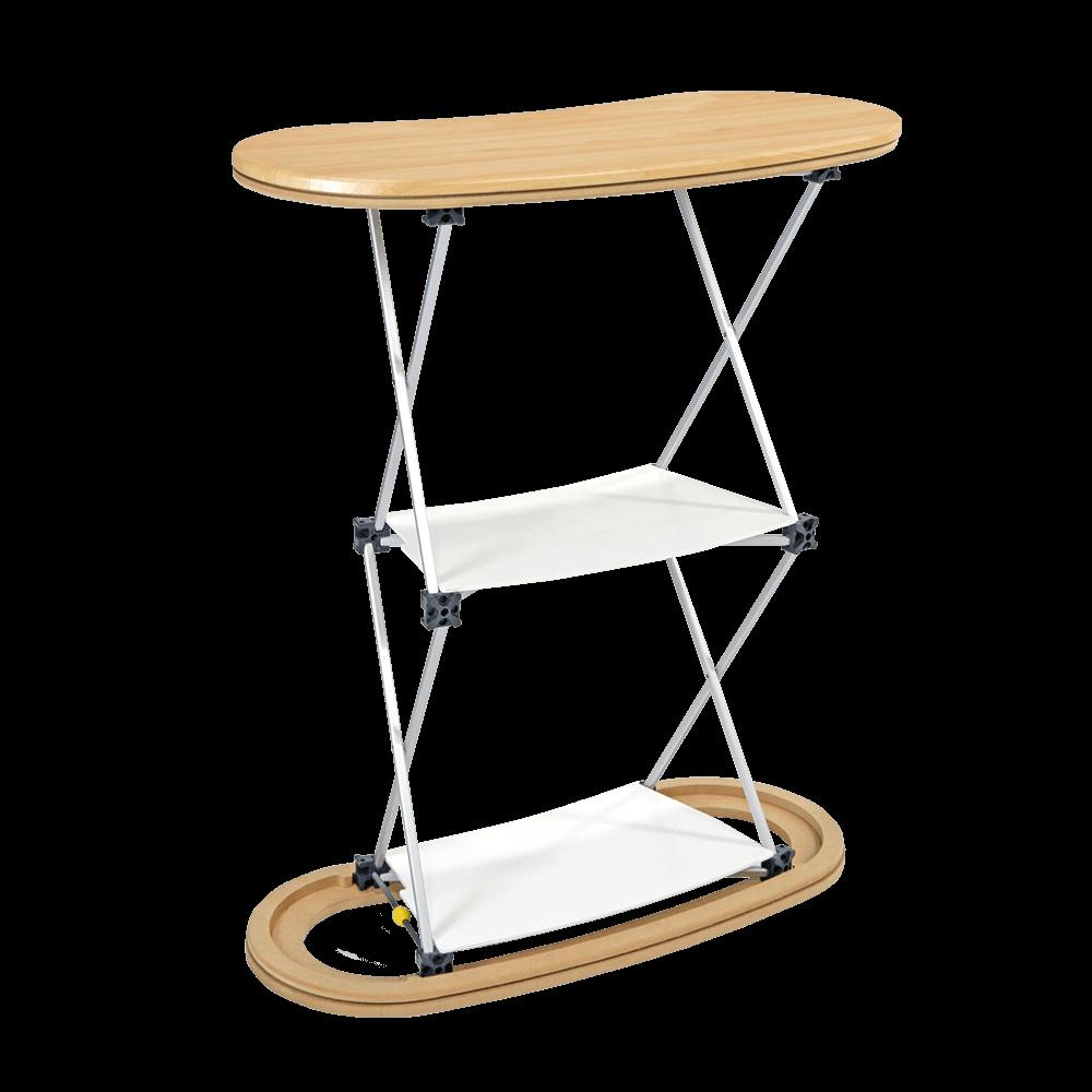 Seg Pop-Up Counter 1X2 Frame-With-Shelves
