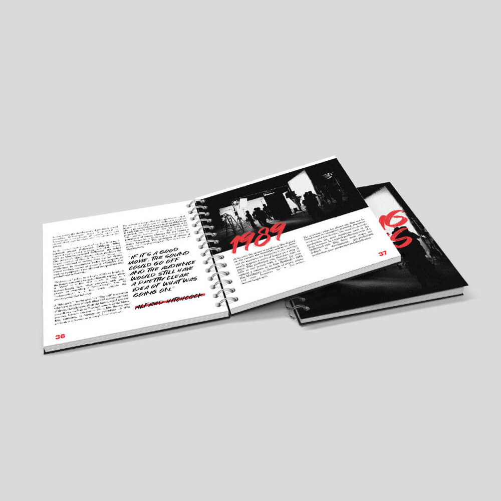 Square Wiro Bound Booklet