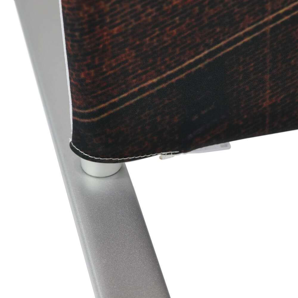 Stretch Fabric Economy Stand Detail Foot