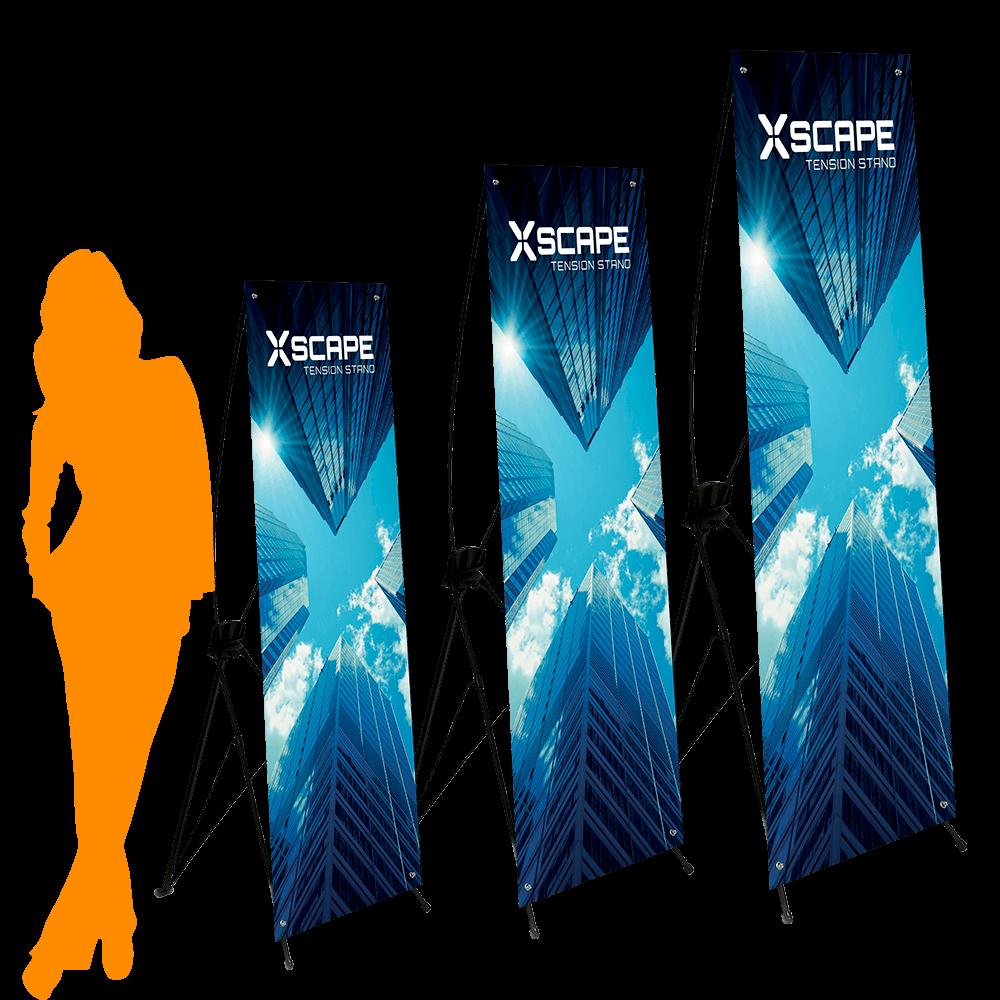 Xscape Sizes
